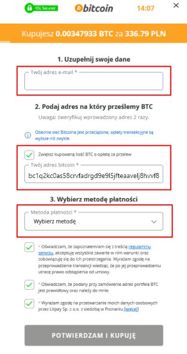 btc procedura bitcoin casino nu bonus 2021 usa